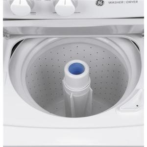 GE Unitized Spacemaker® 2.2 DOE cu. ft. Washer and 4.4 cu. ft. Electric Dryer