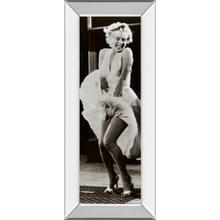 """The Seven Year Itch"" By Anonymous Mirror Framed Print Wall Art"
