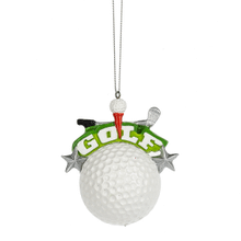 """Golf"" Ornament"