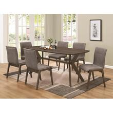 See Details - 5 Piece Dining Set (Table and 4 Chairs)