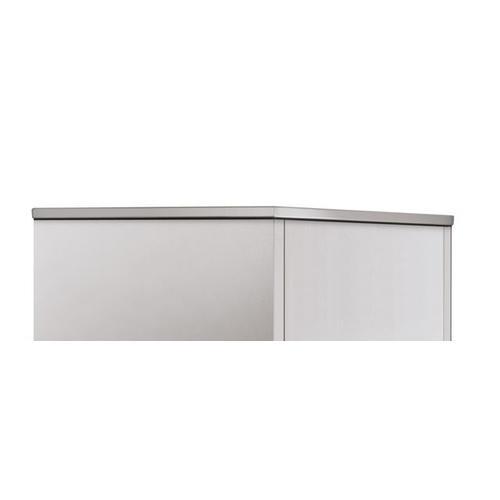 "36"" Designer Stainless Steel Top Panel"