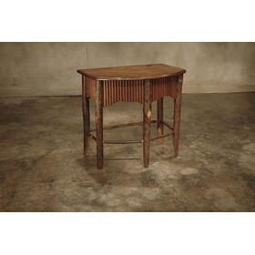 35 Cherry Branch Tambour Side Table