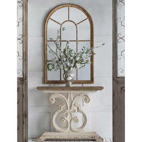 A & B Home - Ada Arched Mirror,Large