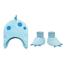 Hat & Slipper Set - Dino (2 pc. set)