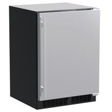 24-In Built-In Refrigerator With Door Storage with Door Style - Stainless Steel, Door Swing - Right