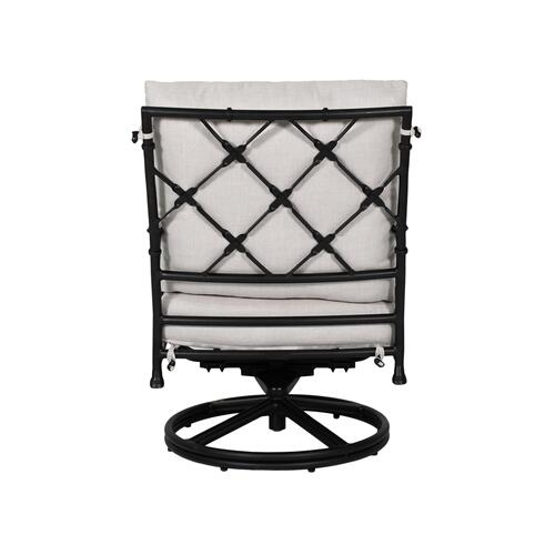 Castelle - Preserve High Back Cushioned Lounge Swivel Rocker