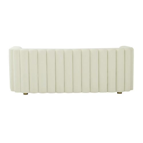 Tov Furniture - Callie Cream Velvet Sofa