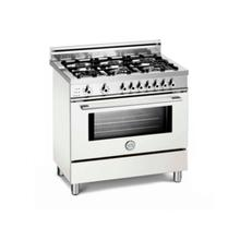 White 36 Six-Burner Electric Self-Clean Oven