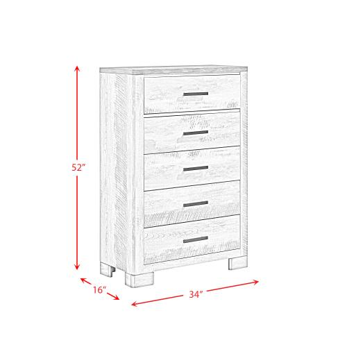 Millers Cove 5-Drawer Chest