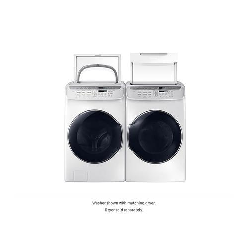 5.5 cu. ft. Smart Washer with FlexWash™ in White