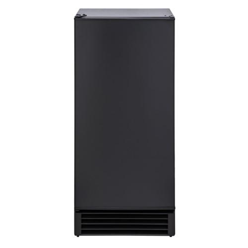 Maxx Ice - Maxx Ice 50 lb. Freestanding Icemaker in Black