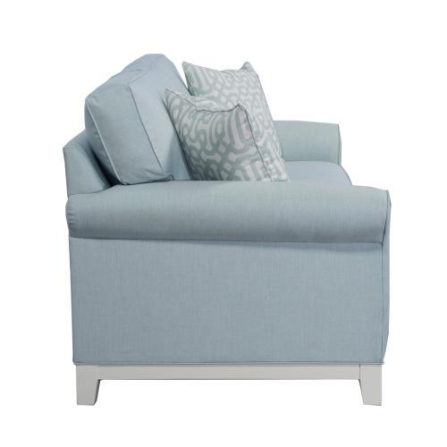 Queen Sleeper, 5'' Plinth Base Available in Grey Wash, Cottage White, Royal Oak, Black Teak, White Teak, Vintage Smoke Finish.