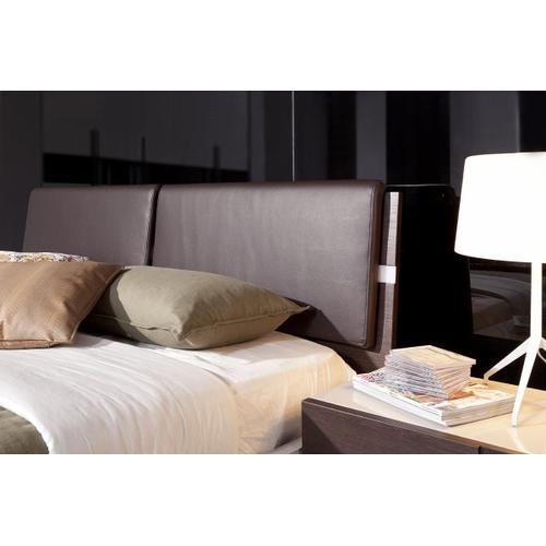 Modrest Anzio - Contemporary Floating Bed With LED Lights