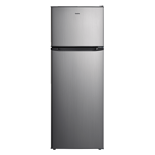 Galanz 12 Cu Ft Top Mount Refrigerator in Stainless Steel Look