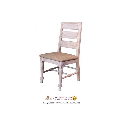 Ifd965chair In By Artisan Home Furniture In Southaven Ms White Chair W Sand Fabric