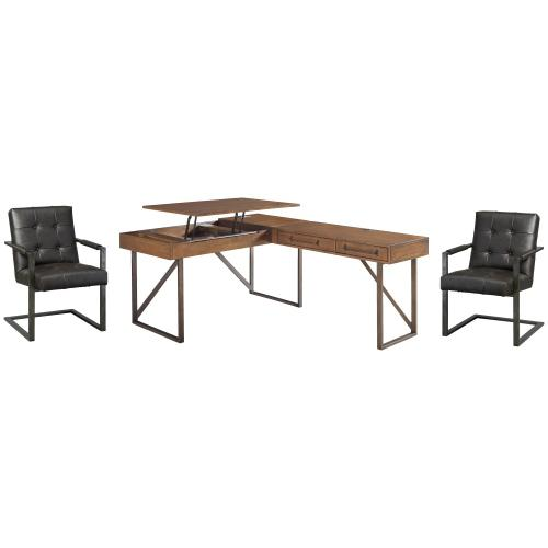 Home Office Desk With 2 Chairs