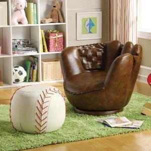 Crown Mark - Baseball Glove Chair