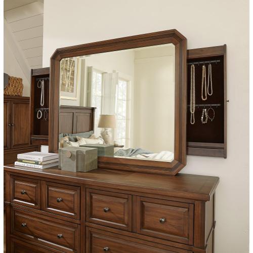 Aspen Furniture - Mirror w/Jewelry Storage