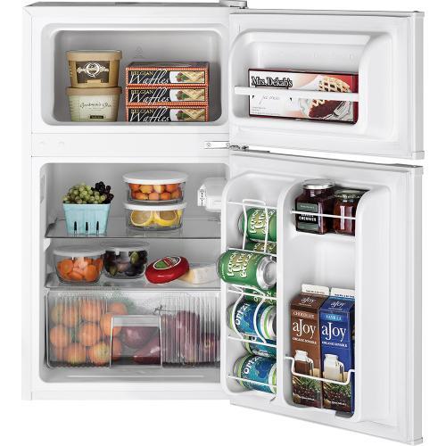 GE 3.1 Cu. Ft. Double Door Compact Refrigerator White - GDE03GGKWW