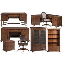 Executive Desk - Classic Cherry Finish