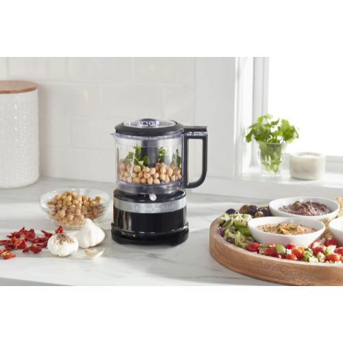 KitchenAid - 3.5 Cup Food Chopper - Onyx Black