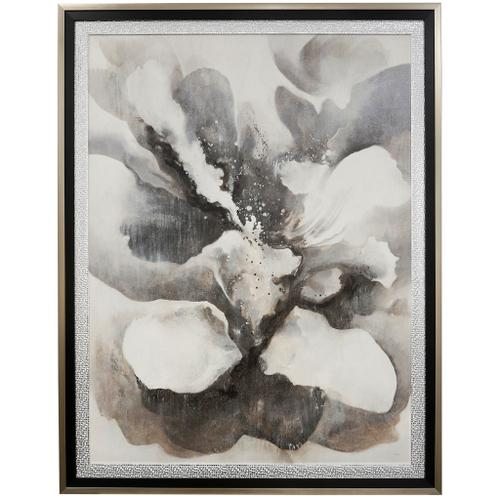 Style Craft - SUBTLE GLAM  42in w X 54in ht  MADE IN USA  TEXTURED FRAME PRINT