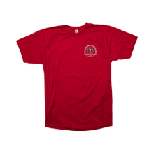 Red T-shirt w/ Mirror Rattlers RF graphic-L