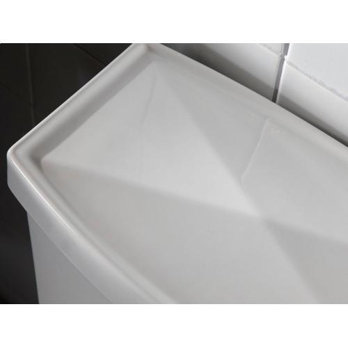 Two-Piece High Efficiency Toilet, Less Seat - Stucco White