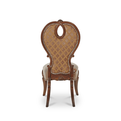 Side Chair- Leather Seat