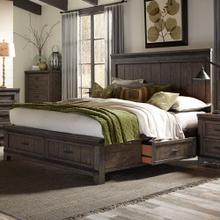 King Two Sided Storage Bed