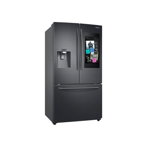 24 cu. ft. Family Hub™ 3-Door French Door Refrigerator in Black Stainless Steel