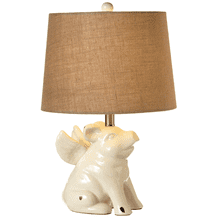 Flying Pig Table Lamp. 60W Max.