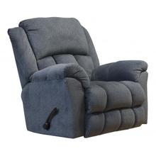 Rocker Recliner w/Deluxe Heat & Massage (CHARCOAL AND CHOCOLATE)