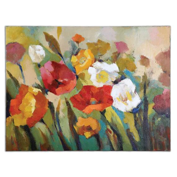 Spring Has Sprung Hand Painted Canvas