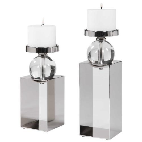 Lucian Candleholders, S/2