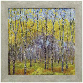 A SPRING DAY  33in w. X 33in ht.  Promotional Textured Framed Print  Made in USA