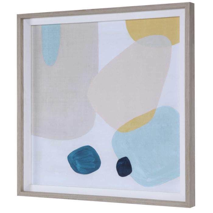 Uttermost - Pink Pebbles II Framed Print