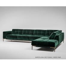See Details - Barcelona Sectional - American Leather