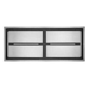 Cirrus Grande 63 inch 1200 CFM Brushed Stainless Steel Ceiling Mounted Range Hood with LED Light