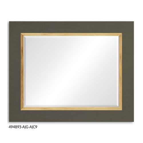 """""""Homespun"""" mirror (Flannel/Gold)"""
