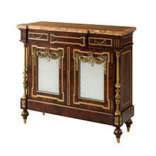 Bold as Brass side cabinet