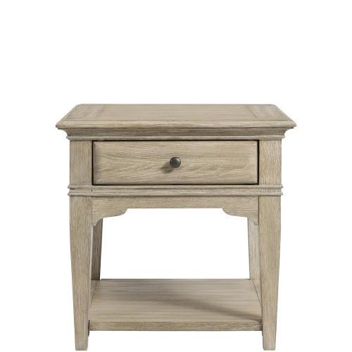 Myra - Leg Side Table - Natural Finish