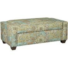 See Details - Craftmaster Living Room Stationary Ottomans, Storage Ottomans