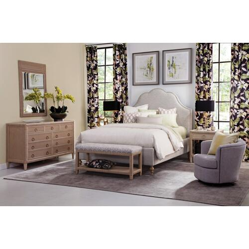 Mayfair Upholstered Bed with Nailhead