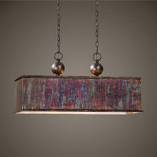 Albiano Rectangle, 2 Lt Pendant