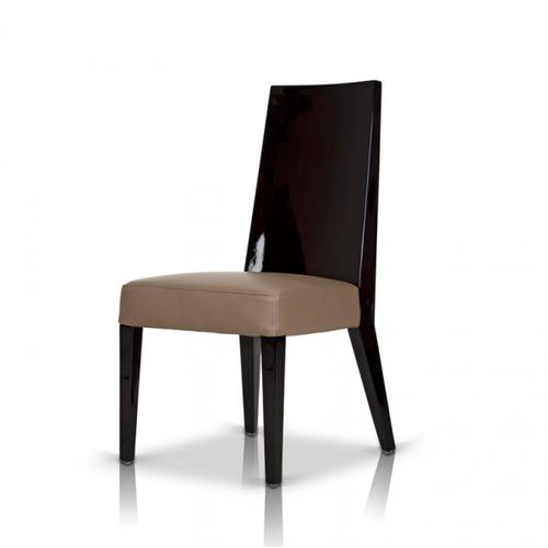 Modrest Noble - Modern Dark Brown Veneer Chair