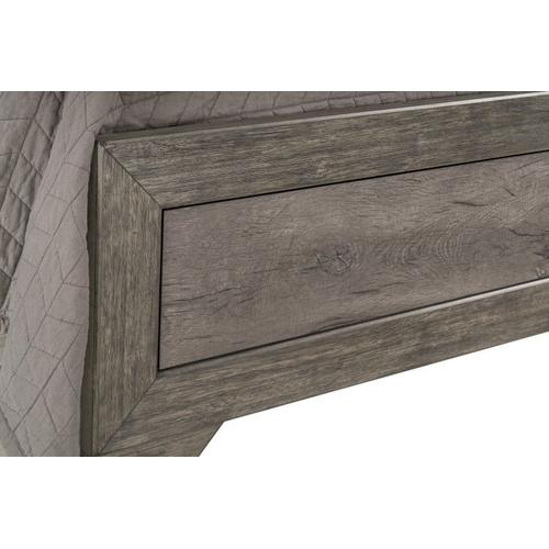 Fairhope King Panel Bed, Grey