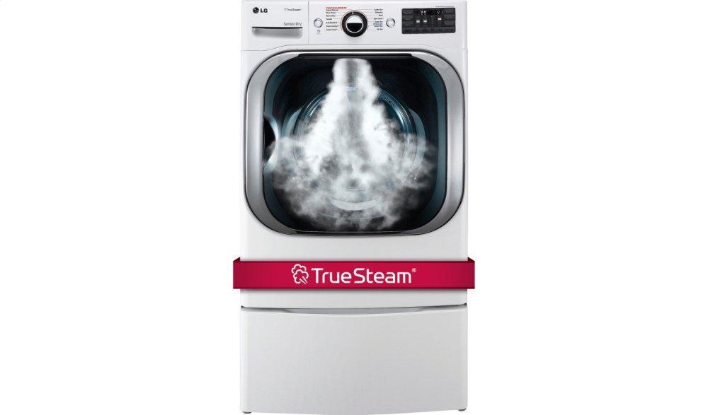 LG Appliances9.0 Cu. Ft. Mega Capacity Gas Dryer W/ Steam™ Technology
