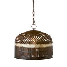 Metal Basket Lamp