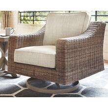 View Product - Beachcroft Swivel Lounge Chair (1/CN) Beige